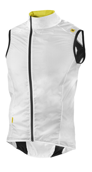 Mavic Cosmic Pro bodywarmer Heren wit